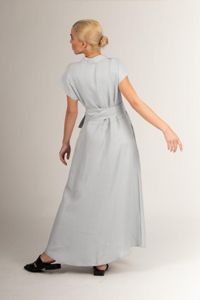 σιελ μίντι φόρεμα με κουμπιά