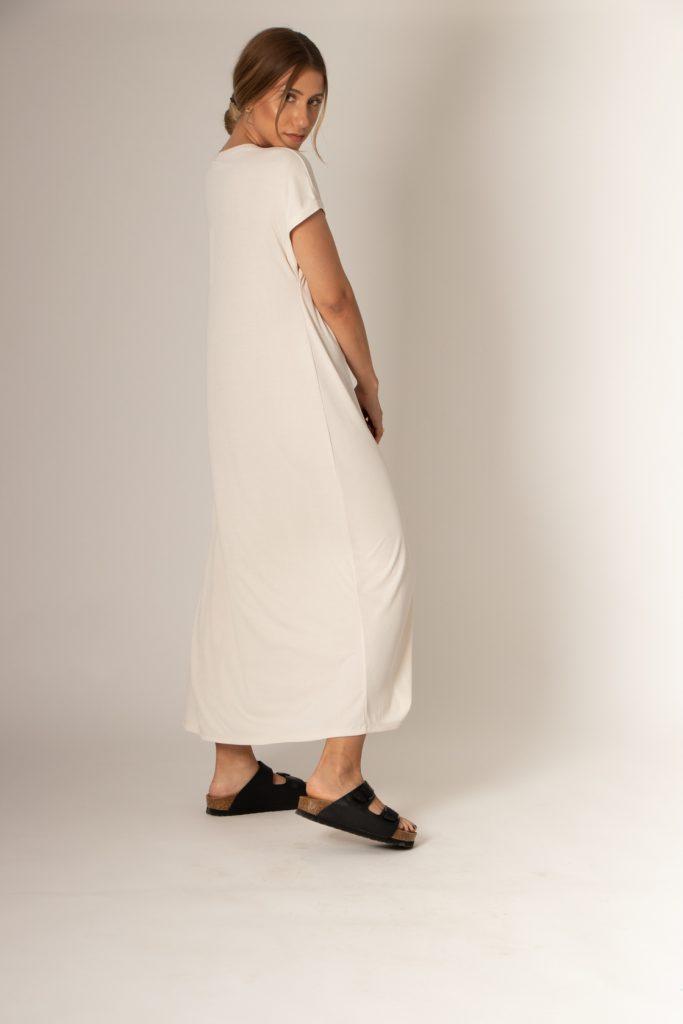 μακρύ ριμπ φόρεμα